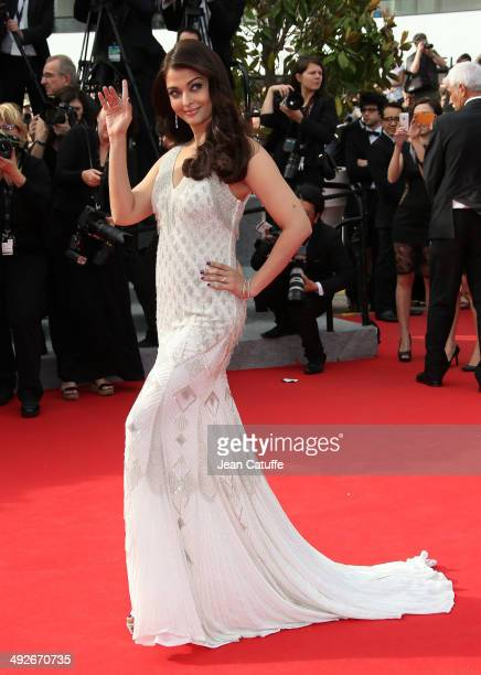 Aishwarya Rai attends 'The Search' premiere during the 67th Annual Cannes Film Festival on May 21 2014 in Cannes France