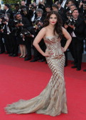 Aishwarya Rai attends the 'Two Days One Night' premiere at the 67th Annual Cannes Film Festival on May 20 2014 in Cannes France