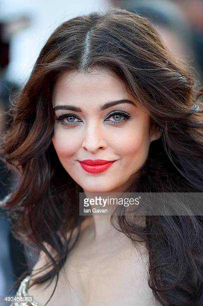 Aishwarya Rai attends the 'Two Days One Night' premiere during the 67th Annual Cannes Film Festival on May 20 2014 in Cannes France