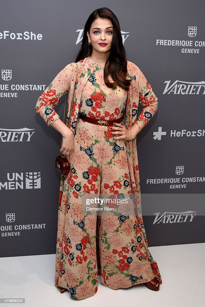<a gi-track='captionPersonalityLinkClicked' href=/galleries/search?phrase=Aishwarya+Rai&family=editorial&specificpeople=202237 ng-click='$event.stopPropagation()'>Aishwarya Rai</a> attends the Variety Celebration of UN Women at Radisson Blu on May 16, 2015 in Cannes, France.