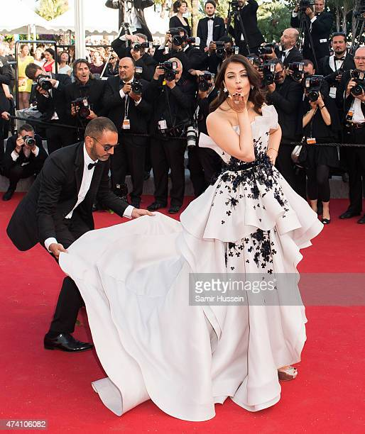 Aishwarya Rai attends the 'Youth' Premiere during the 68th annual Cannes Film Festival on May 20 2015 in Cannes France