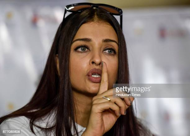 Aishwarya Rai Bachchan and NGO Smile Train unveils Day of Smiles in the memory of her father on his birthday at Shushrusha Citizens' Cooperative...