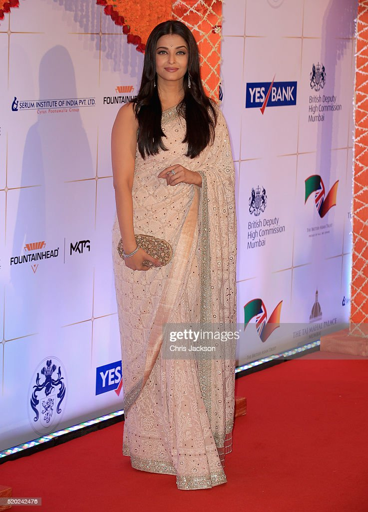 <a gi-track='captionPersonalityLinkClicked' href=/galleries/search?phrase=Aishwarya+Rai&family=editorial&specificpeople=202237 ng-click='$event.stopPropagation()'>Aishwarya Rai</a> Bachchan arrives for a Bollywood Inspired Charity Gala at the Taj Mahal Palace Hotel during the royal visit to India and Bhutan on April 10, 2016 in Mumbai, India.