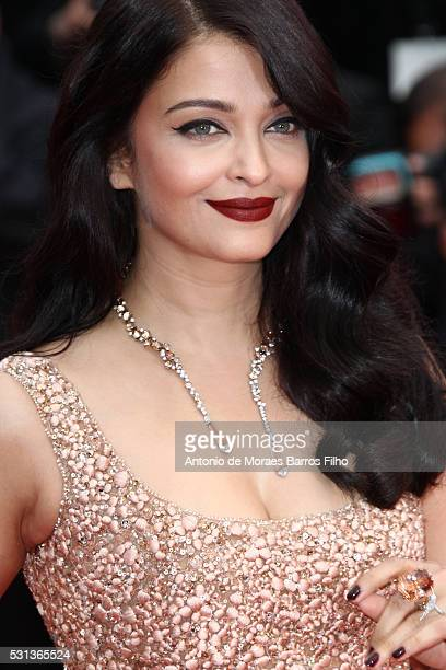 Aishwarya Rai Bachchan attends 'The BFG' premier during the 69th Annual Cannes Film Festival on May 14 2016 in Cannes