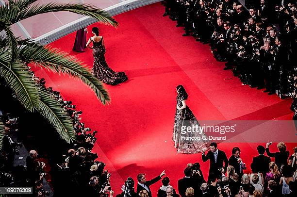 Aishwarya Rai Bachchan attends the 'Inside Llewyn Davis' Premiere during the 66th Annual Cannes Film Festival at Palais des Festivals on May 19 2013...