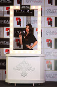 Aishwarya Rai Bachchan attends the L'Oreal Paris' Moist Matte Collection Pure Reds press conference held at Hotel Palladium on January 7 2015 in...