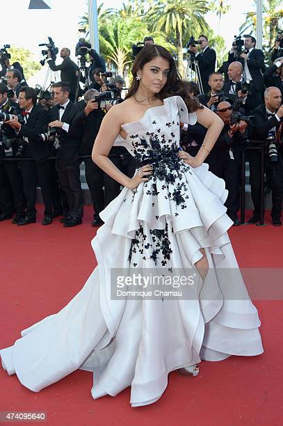 Aishwarya Rai Bachchan attends the Premiere of 'Youth' during the 68th annual Cannes Film Festival on May 20 2015 in Cannes France