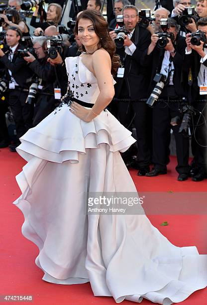 Aishwarya Rai Bachchan attends the 'Youth' premiere during the 68th annual Cannes Film Festival on May 20 2015 in Cannes France