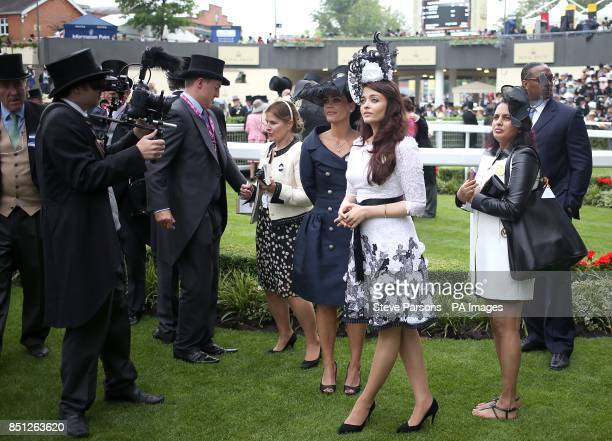 Aishwarya Rai Bachchan during day one of the Royal Ascot Meeting at Ascot Racecourse Berkshire