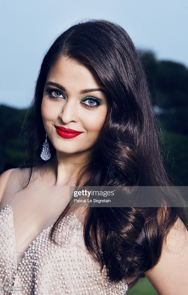<a gi-track='captionPersonalityLinkClicked' href=/galleries/search?phrase=Aishwarya+Rai&family=editorial&specificpeople=202237 ng-click='$event.stopPropagation()'>Aishwarya Rai</a> Bachchan is photographed at AmfAR's 21st Cinema Against AIDS Gala on May 22, 2014 in Cap d'Antibes, France.