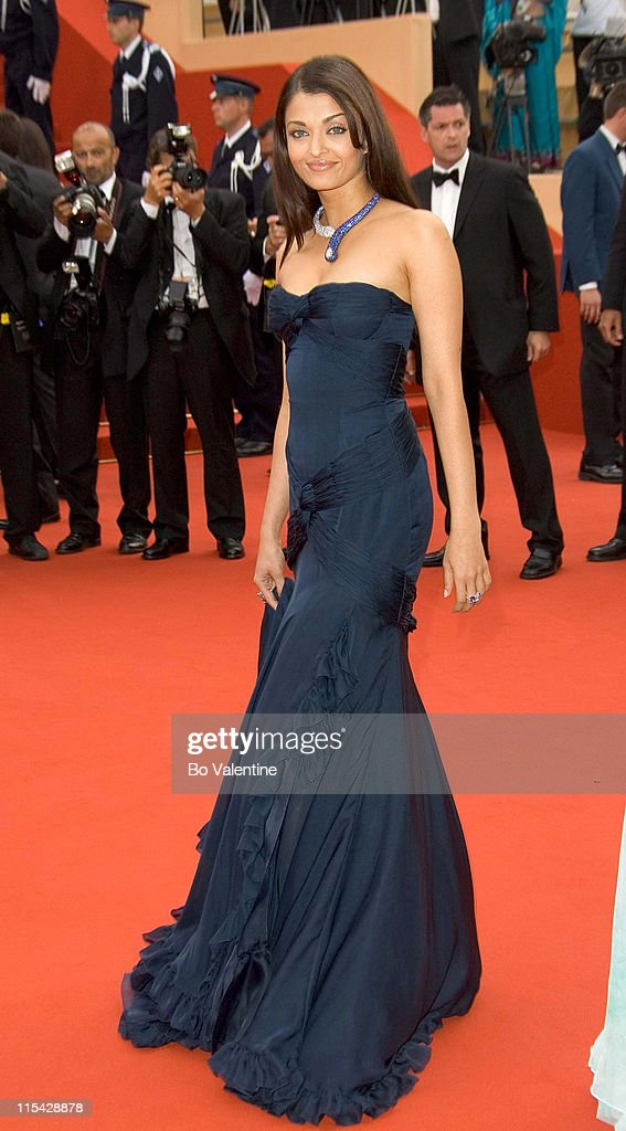 Aishwarya Rai during 2006 Cannes Film Festival - 'The Wind That Shakes The Barley' Premiere at Palais Du Festival in Cannes, France.