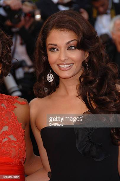 Aishwarya Rai during Cannes Film Festival 'Da Vinci Code' gala at Palais des Festivals Cannes in Cannes France