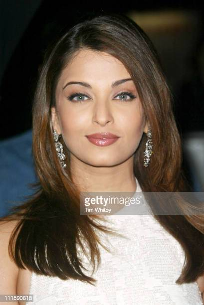 Aishwarya Rai during The Sangeet Awards Celebrating The Best Of Music In Bollywood Arrivals at Royal Albert Hall in London Great Britain