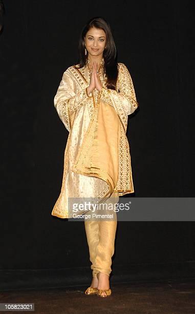 Aishwarya Rai during World Premiere of 'Guru' in Toronto at Elgin Theatre in Toronto Ontario Canada