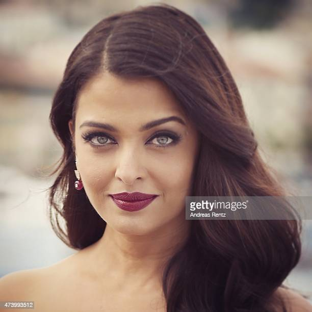 Aishwarya Rai poses at the 'Jazbaa' Photocall during the 68th annual Cannes Film Festival on May 19 2015 in Cannes France