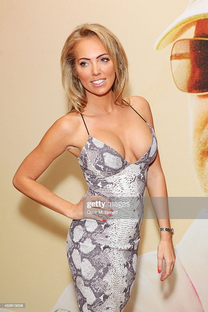 <a gi-track='captionPersonalityLinkClicked' href=/galleries/search?phrase=Aisleyne+Horgan-Wallace&family=editorial&specificpeople=2328938 ng-click='$event.stopPropagation()'>Aisleyne Horgan-Wallace</a> attends a screening of 'Million Dollar Arm' at The May Fair Hotel on August 21, 2014 in London, England.