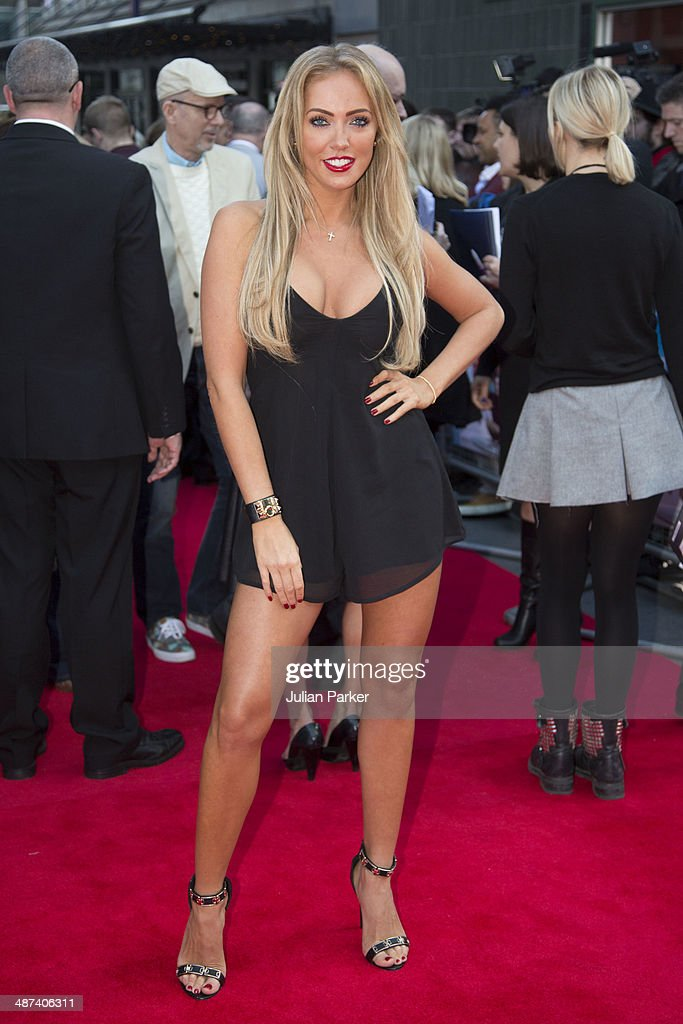<a gi-track='captionPersonalityLinkClicked' href=/galleries/search?phrase=Aisleyne+Horgan-Wallace&family=editorial&specificpeople=2328938 ng-click='$event.stopPropagation()'>Aisleyne Horgan-Wallace</a> attends the UK Premiere of 'Plastic' at Odeon West End on April 29, 2014 in London, England.