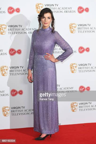 Aisling Bea poses in the Winner's room at the Virgin TV BAFTA Television Awards at The Royal Festival Hall on May 14 2017 in London England