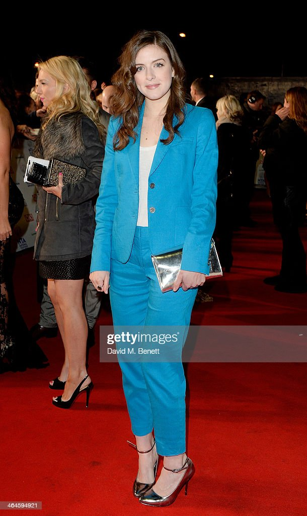Aisling Loftus attends the National Television Awards at the 02 Arena on January 22, 2014 in London, England.