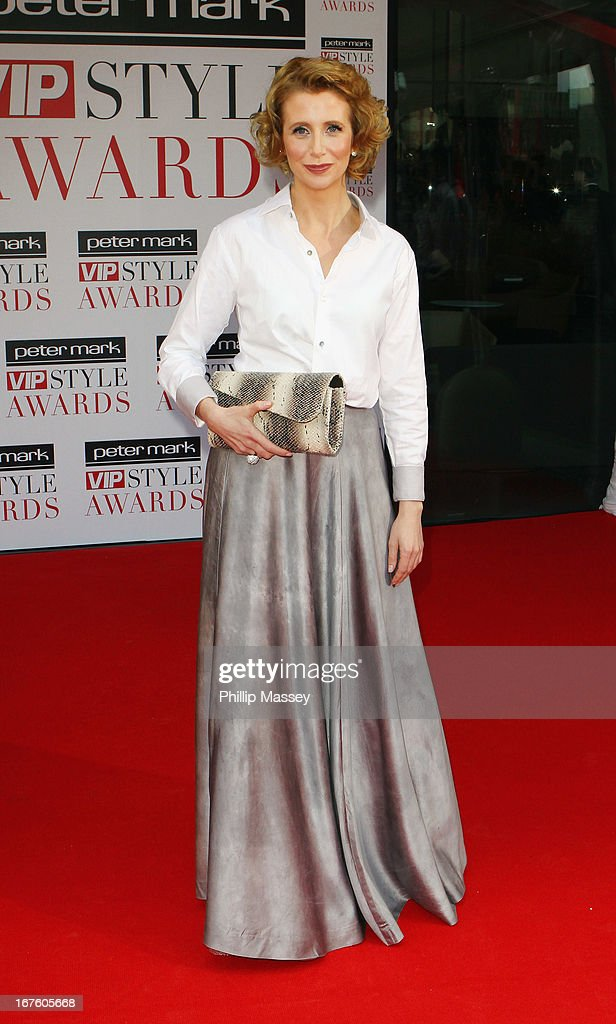 Aisling O'Loughlin attends the Peter Mark VIP Style Awards at Marker Hotel on April 26, 2013 in Dublin, Ireland.