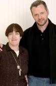 Aisling Walsh director/cowriter and Aidan Quinn