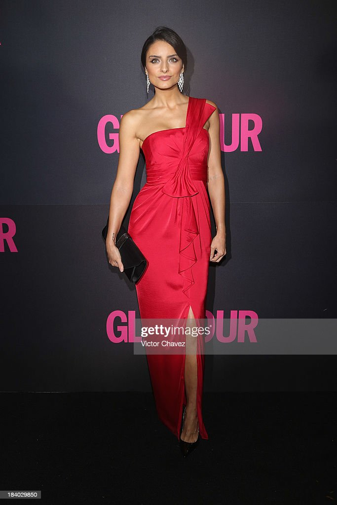 Aislinn Derbez attends the Glamour Magazine 15th Anniversary at Casino Del Bosque on October 10, 2013 in Mexico City, Mexico.