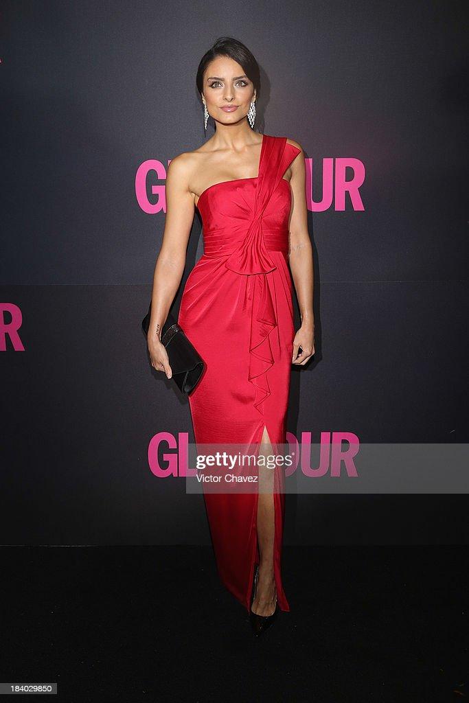 Aislinn Derbez attends the Glamour Magazine 15th Anniversary at Casino Del Bosque on October 10, 2013 in Mexico City, Mexico.