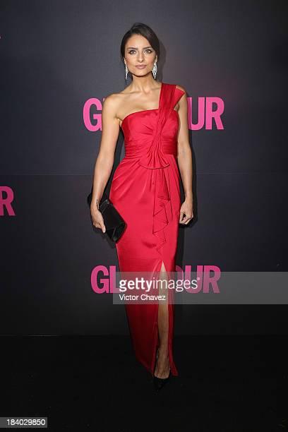 Aislinn Derbez attends the Glamour Magazine 15th Anniversary at Casino Del Bosque on October 10 2013 in Mexico City Mexico