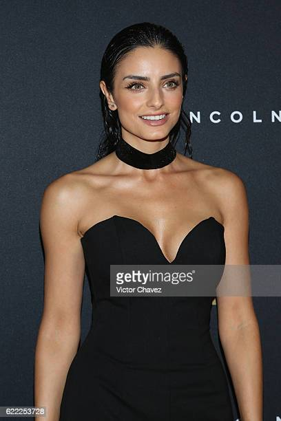Aislinn Derbez attends the GQ Men Of The Year Awards 2016 at Torre Virrelles on November 9 2016 in Mexico City Mexico