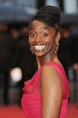 Aissa Maiga at the premiere for 'Amour' during the 65th Cannes International Film Festival