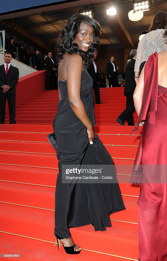 Aissa Maiga at the premiere of ?Robin Hood? during the 63rd Cannes International Film Festival.