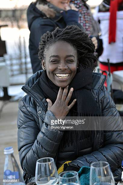 Aissa Maiga attends the 5th edition of Les Arcs European Film Festival on December 15 2013 in Les Arcs France