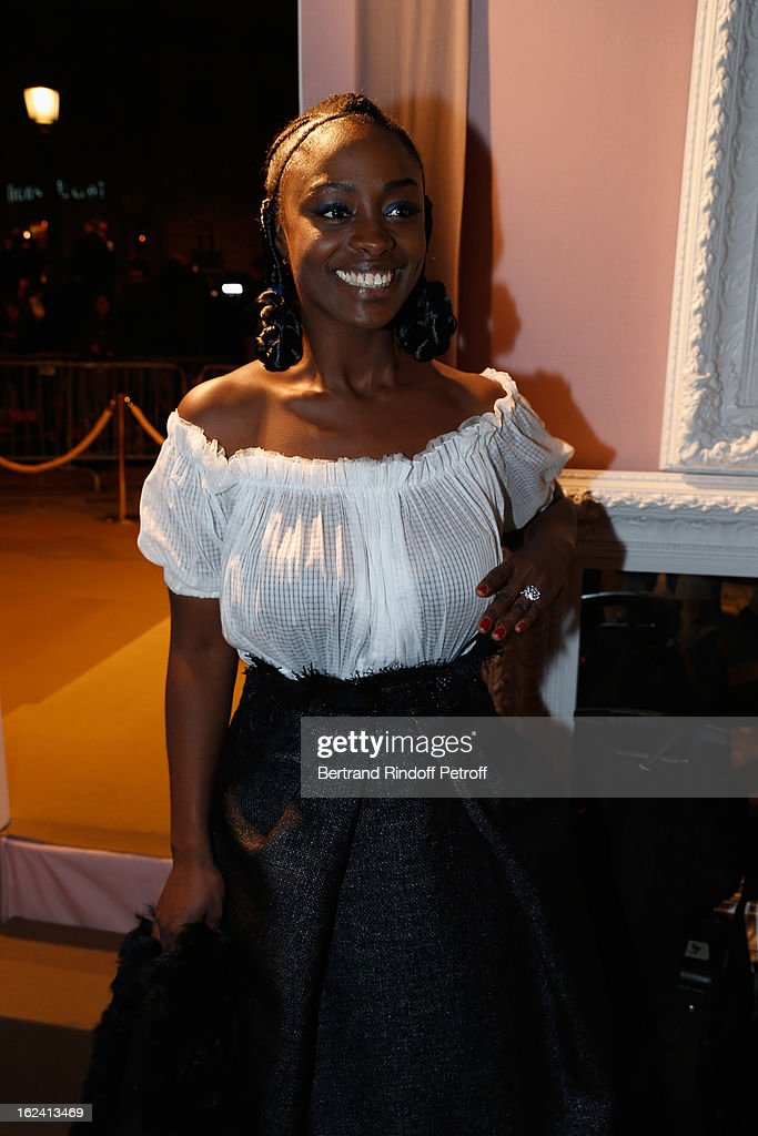 <a gi-track='captionPersonalityLinkClicked' href=/galleries/search?phrase=Aissa+Maiga&family=editorial&specificpeople=618386 ng-click='$event.stopPropagation()'>Aissa Maiga</a> attends the Cesar Film Awards 2013 at Le Fouquet's on February 22, 2013 in Paris, France.