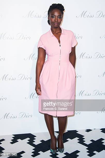 Aissa Maiga attends the 'Esprit Dior Miss Dior' Exhibition Opening at Grand Palais on November 12 2013 in Paris France