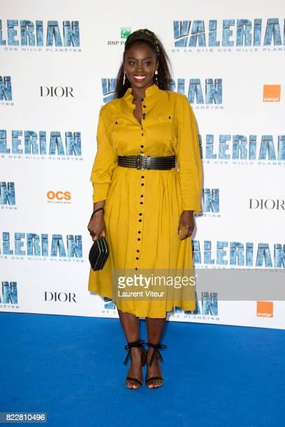 Aissa Maiga attends 'Valerian et la Cite desMille Planetes' Paris Premiere at La Cite Du Cinema on July 25 2017 in SaintDenis France