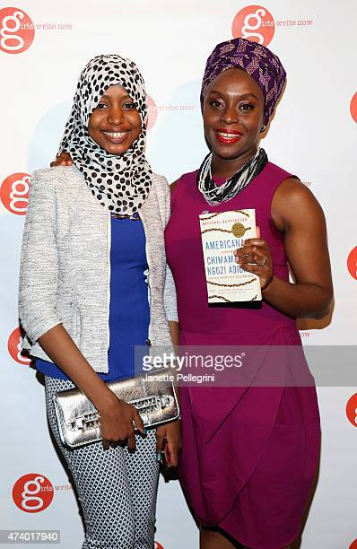 Aissata Diallo and author Chimamanda Ngozi Adichie attend the Girls Write Now Awards honoring Chimamanda Ngozi Adichie Pamela Paul and Juju Chang at...