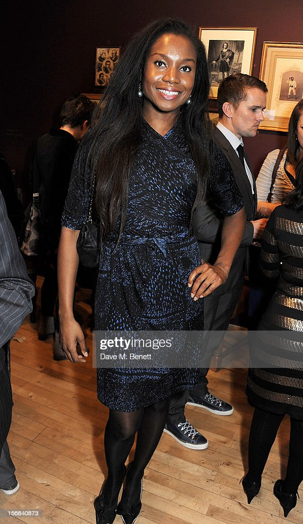 Aita Ighodaro attends Tricycle Theatre's 'Red Velvet: The Director's Party' on November 22, 2012 in London, England.