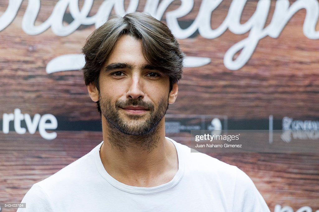 Aitor Luna attends 'Mi Panaderia en Brooklyn' at Hospes Hotel on June 28, 2016 in Madrid, Spain.