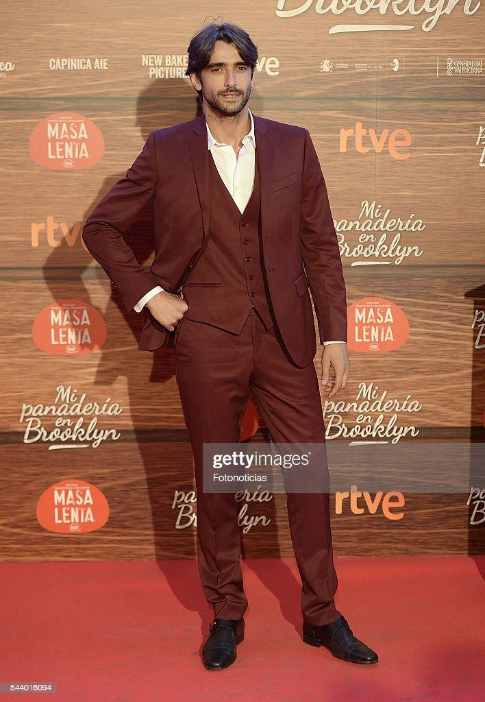 Aitor Luna attends the 'Mi Panaderia de Brooklyn' premiere at Capitol cinema on June 30, 2016 in Madrid, Spain.