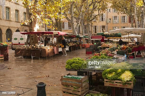 Aix en Provence, Outdoor produce market