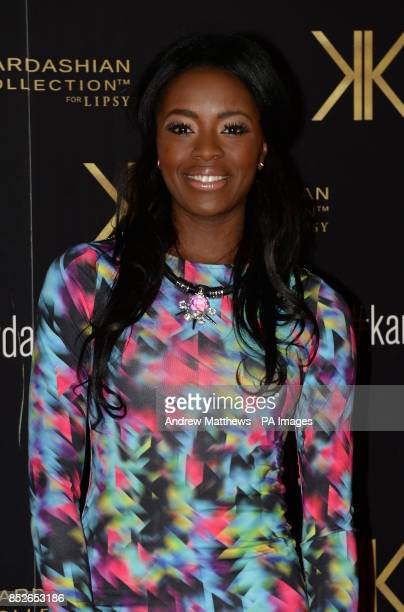 Aj Odudo attending the Kardashian Kollection For Lipsy launch party at the Natural History Museum London PRESS ASSOCIATION Photo Picture date...
