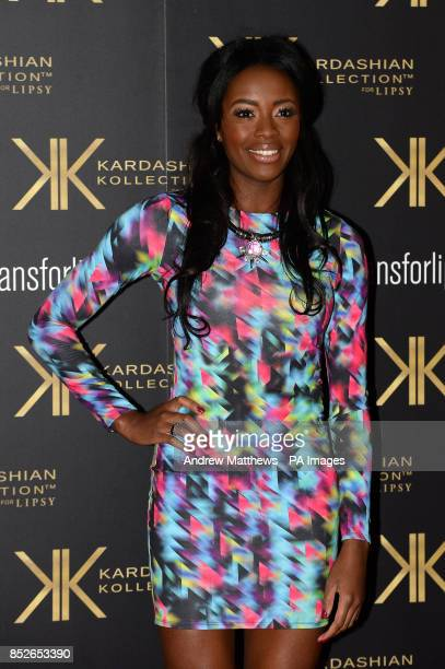 Aj Odudo attending the Kardashian Kollection For Lipsy launch party at the Natural History Museum London