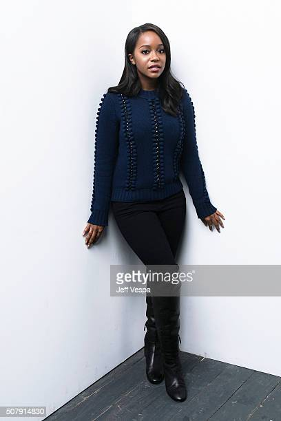 Aja Naomi King of 'The Birth of a Nation' poses for a portrait at the 2016 Sundance Film Festival on January 25 2016 in Park City Utah