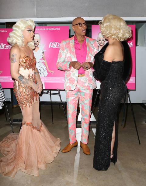 Valentina attends RuPauls Drag Race Season 9 finale party