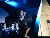 Aja Volkman of Nico Vega performs at the Hollywood Palladium on May 29 2013 in Hollywood California