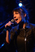 Aja Volkman of Nico Vega performs on stage at House Of Blues Chicago on March 4 2013 in Chicago Illinois