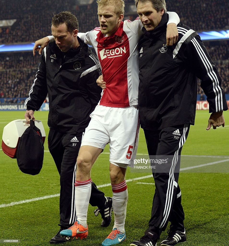 Lucas Moura Injured: Paris Saint-Germain V AFC Ajax