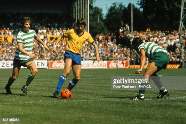 Ajax's Johan Cruyff in action circa 1973