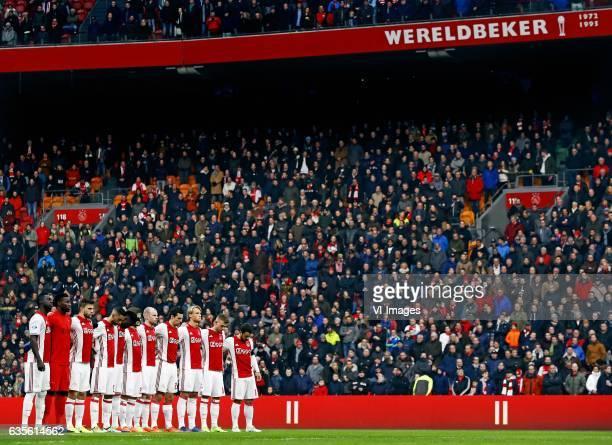 AjaxSparta Eerbetoon aan Piet Keizer Foto Pim Rasduring the Dutch Eredivisie match between Ajax Amsterdam and Sparta Rotterdam at the Amsterdam Arena...