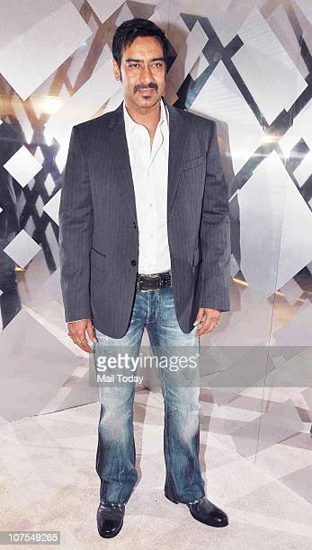 Ajay Devgan at an event hosted by Christopher Bailey in Mumbai to celebrate the brand Burberry's presence in India